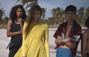Director Oliver Hadlee Pearch Captures Carefree Miami for Farfetch