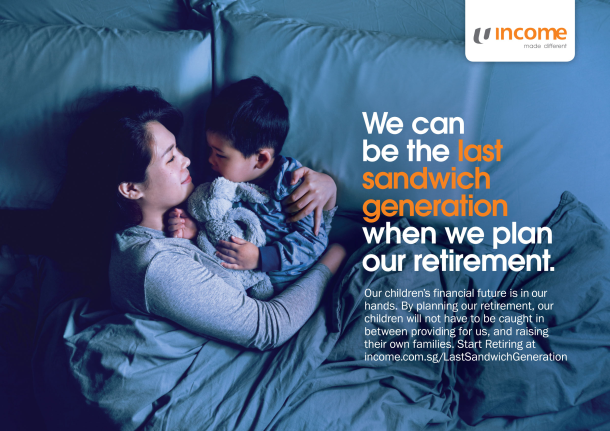 BBH Helps NTUC Income Tell Singaporean Parents to Be the 'Last Sandwich Generation'