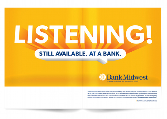 'Listening!' NBH Bank, N.A. Starts Conversation with Clients Who Want More