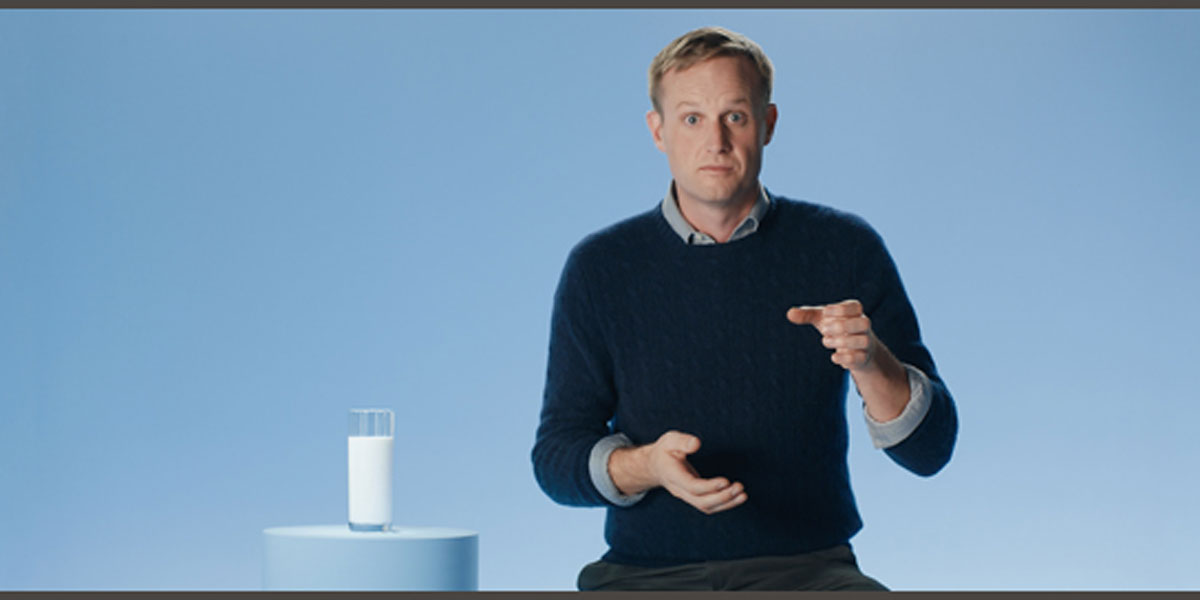 DDB Takes Milk-Drinking to the Next Level With The Milk Glass