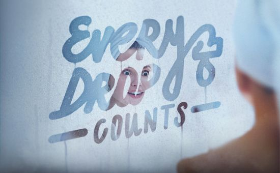 Steamy Stuff as Y&R Moscow Uses Mirrors to Highlight Water Wastage
