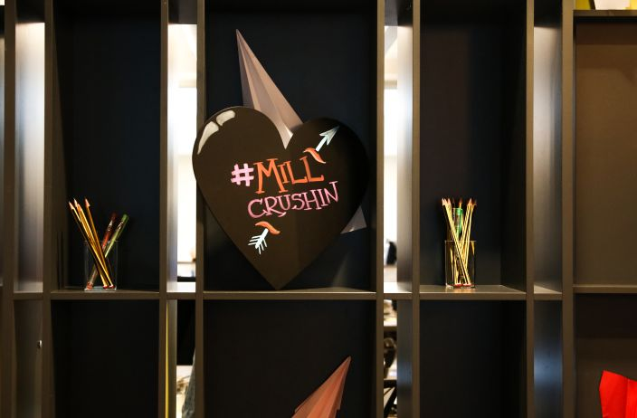The Mill London Relives High School Sweetheart Moments This Valentine's Day