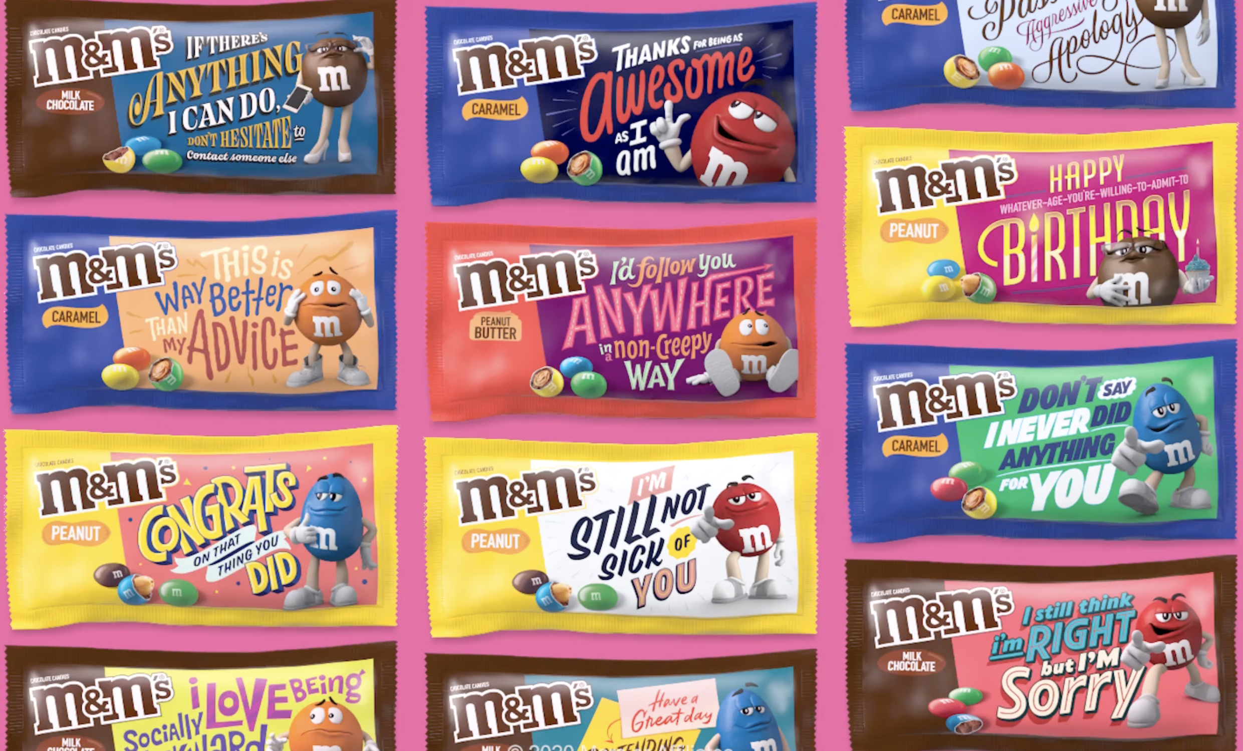 M&M's Makes an Appearance at Biggest Night in Hollywood