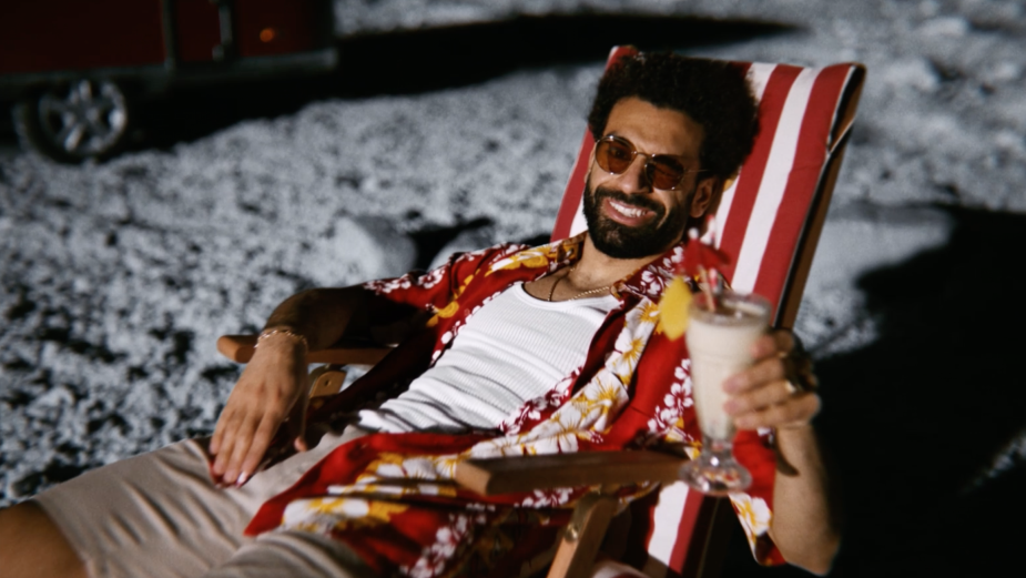 Mo Salah Flies to the Moon in Energetic Vodafone Egypt Campaign