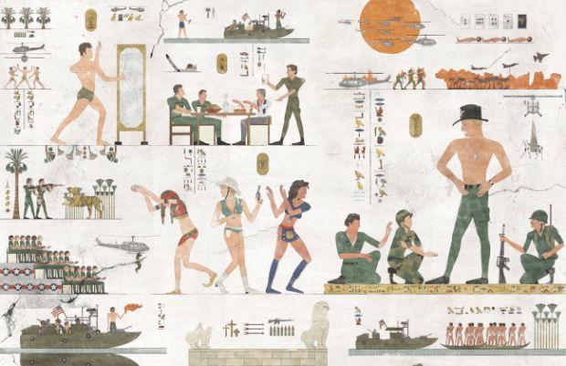 Tribeca Film Festival Retells Modern Stories Through Hieroglyphics