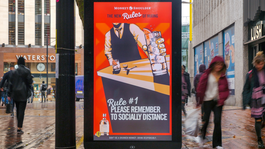 Monkey Shoulder's First Outdoor Campaign Supports UK Bars and Pubs Safely