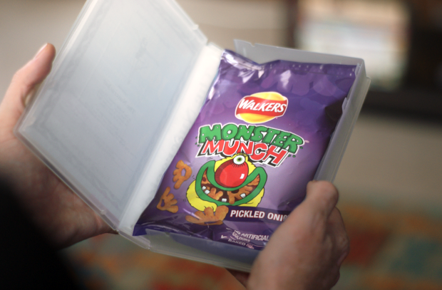 Watch Parents Go to Extreme Lengths to Hide Walkers Snacks from Their Kids