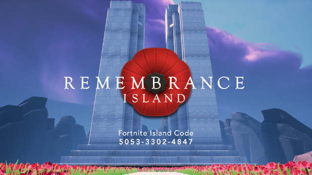 Fortnite #SaluteThePoppy with Poignant Remembrance Day Memorial