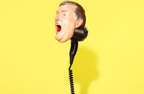 Uncommon Creates Piers Morgan 3D Printed Hairdryer for ITV