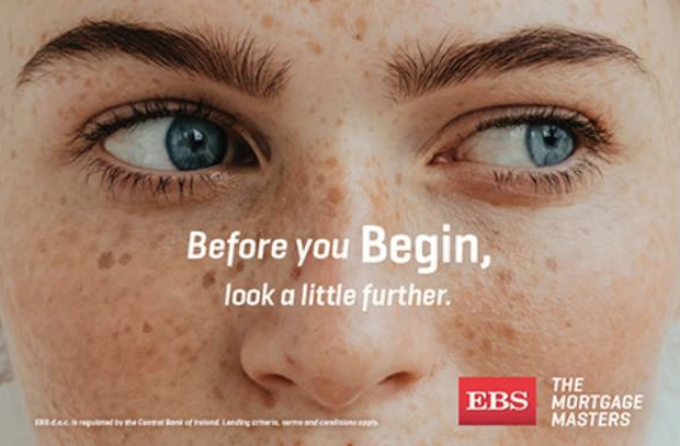EBS Outdoor Campaign Takes a Swipe at Bank of Ireland with 'Look a Little Further'