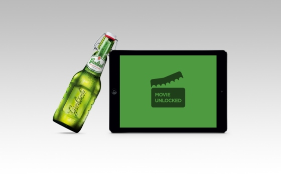 Now You Can Pay for Movies Online with Grolsch Beer