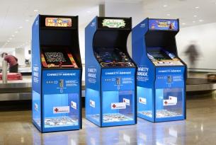 Åkestam Holst's Airport Charity Arcade Turns Foreign Change Into Fun