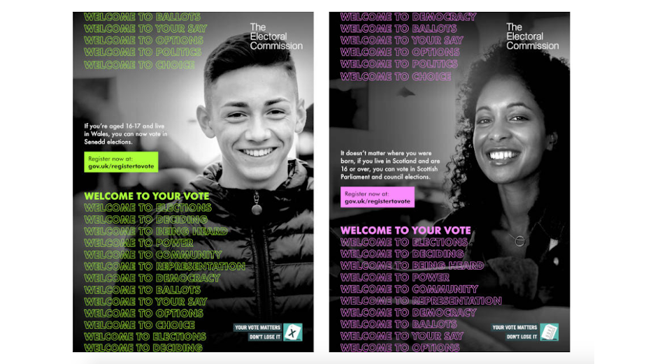 Wales and Scotland Hand the Vote to the Next Generation in Latest Campaign