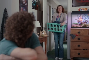 Mortifying Mother Walks In for Droga5's New Clearasil Spot
