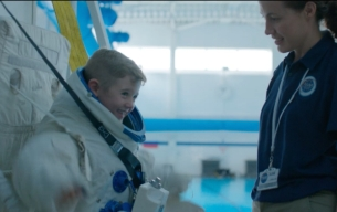 Leo Burnett London's Adolescent Astronaut Fronts New NSPCC Rebrand