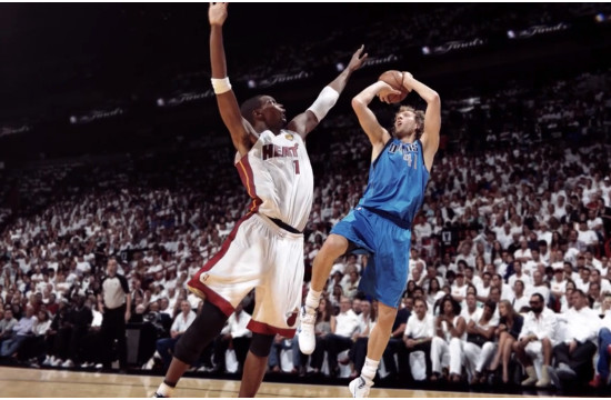 GSP Launch 'Forever Dirk' for NBA Finals
