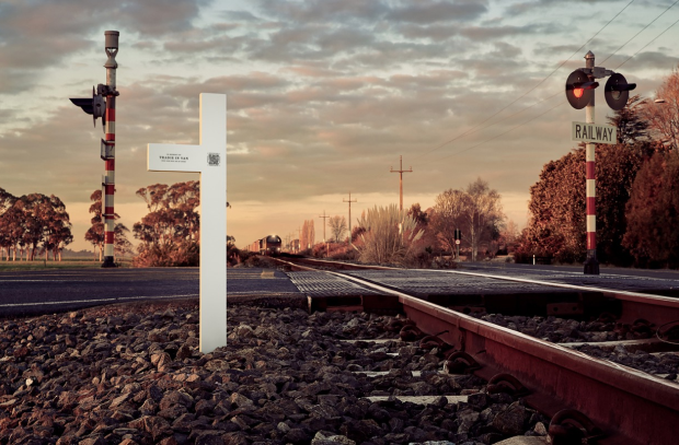 These 'Near Miss Memorials' Remember Shockingly Close Calls at Railway Crossings