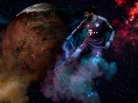 Watch MPC's Epic Kick-about Through the Stars for ZDF Network