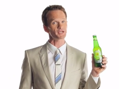 Why Neil Patrick Harris Can't Drink His Heineken in W+K New York Spot