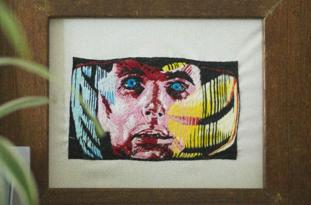 Getting Down and NERDy: Brett De Vos – Embroidery