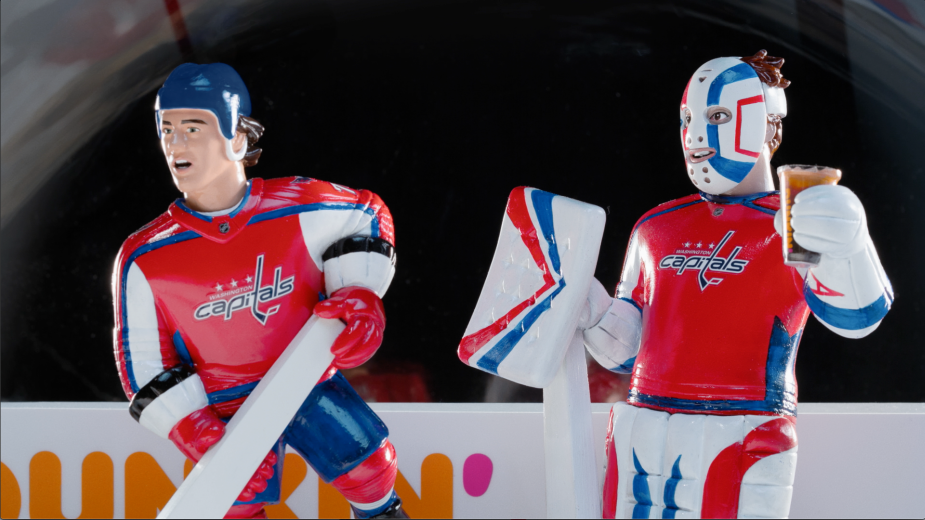 Dunkin's NHL Campaign Takes You Inside an Iconic Bubble Hockey Arcade Game