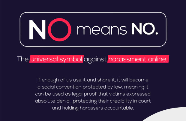 Grey Colombia Creates the First Universal Symbol Against Online Harassment