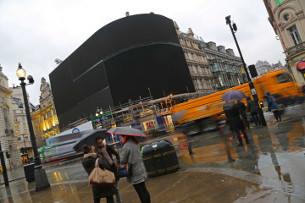 Goodbye Piccadilly: London's Famous Lights Turned off for Major Overhaul