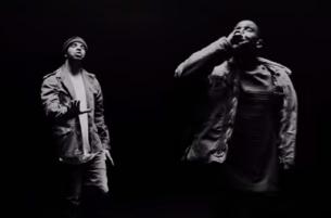 Darren Craig Shoots Drake & Kanye West in Monochrome Big Sean Promo