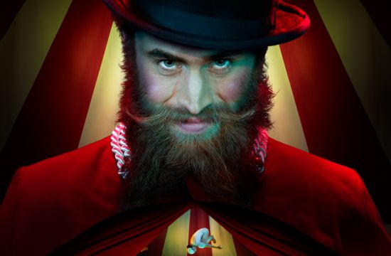 Critical Mass & Fire Eater Use Oculus Rift to Run Away with the Circus