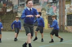Badman Breakdancing Schoolboys in Grey London's New Vodafone Ad