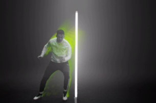 The Mill Shines Neon Bright for Shoot Europe's Nike Spot