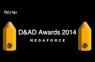 Megaforce Awarded at the 2014 D&AD Awards