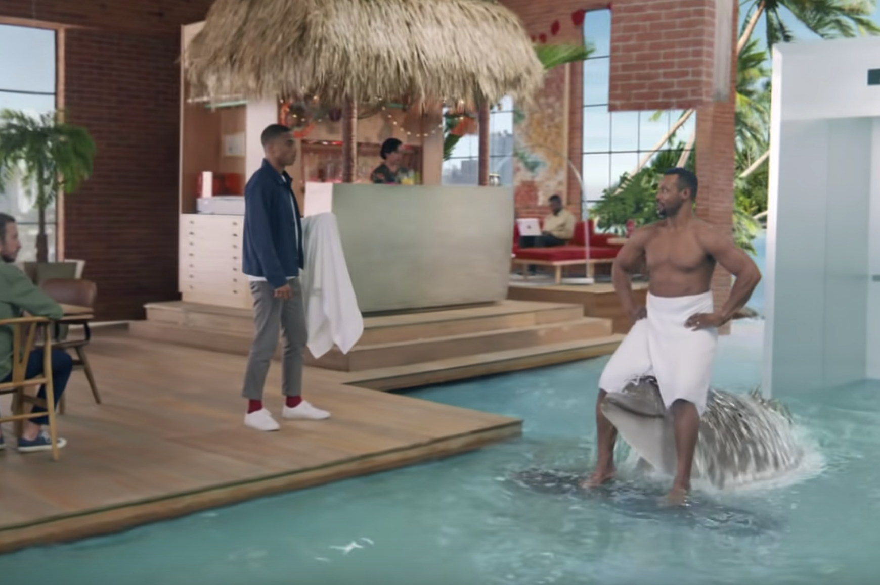 Old Spice's Isaiah Mustafa Offers Fatherly Advice in Spots Serviced by The Lift Mexico