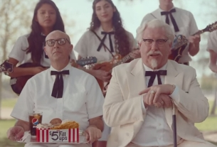 The Colonel Brings His Old-timey Ways to W+K Portland's KFC Spots