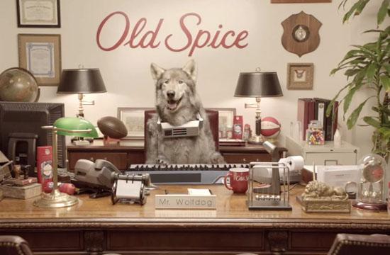 Mr Wolfdog in Shock Old Spice Resignation