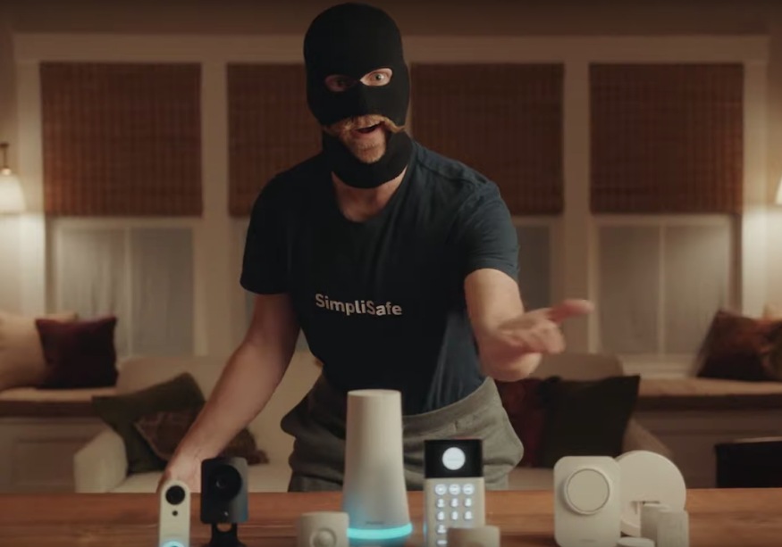 Burglar 'Robbert Larson' is the Master of Home Security in SimpliSafe Campaign