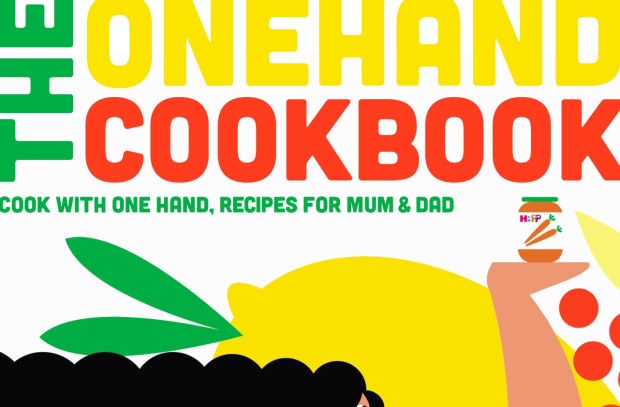 New Onehand-Cookbook Takes the Stress out of Cooking with Young Children