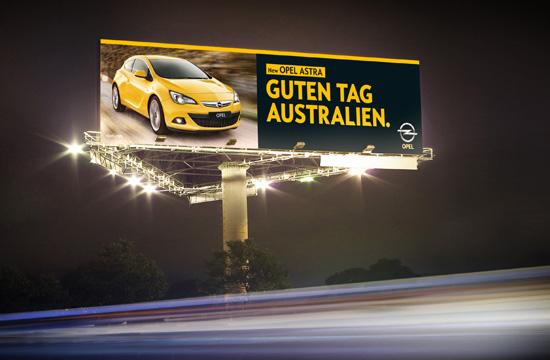 Opel Says Guten Tag Australia