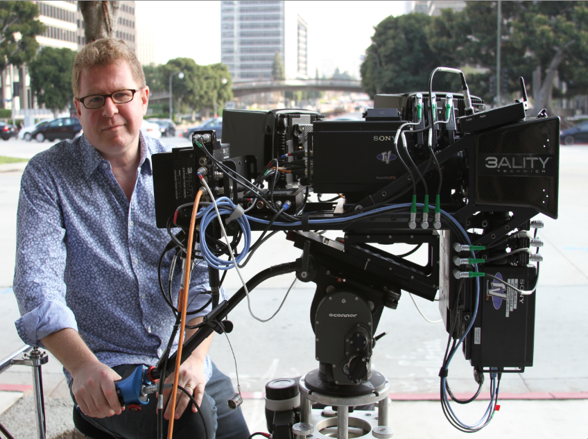 Opinion: James Stewart, 3D Evangelist & Multi-Platform Director