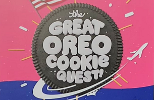 Oreo Releases Interactive OOH Game 'The Great Oreo Cookie Quest'