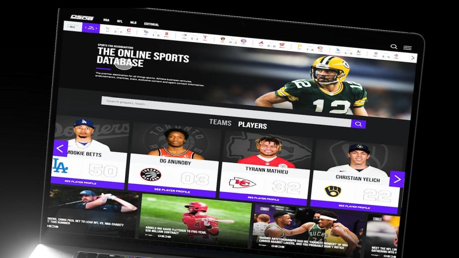 Brand Agency SCS Teams with OSDB Sports to Launch IMDb-Like Sports Platform