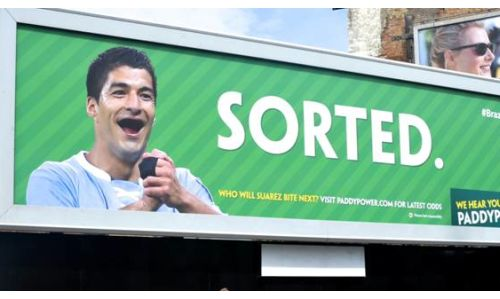 CP+B Sorts Out Suarez For Paddy Power