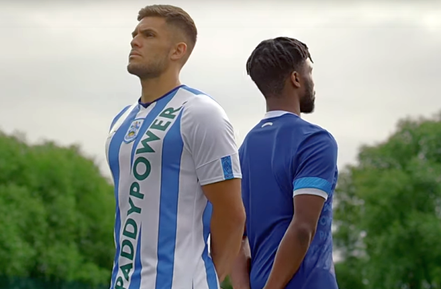 Paddy Power Reveals Actual Huddersfield Shirt – and New Season Campaign