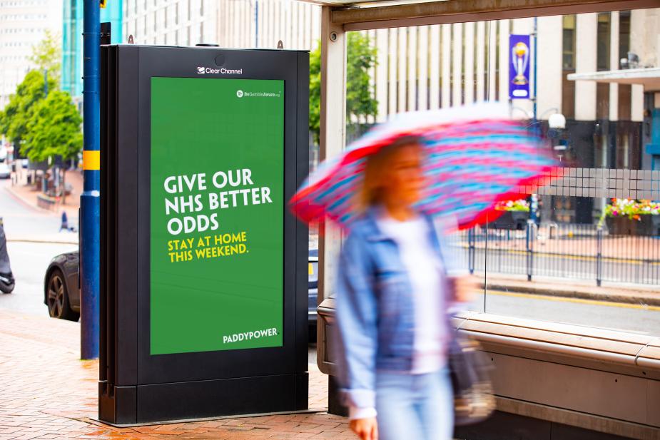 UK Advertisers Leverage OOH as a Platform for Good Amid Coronavirus Pandemic