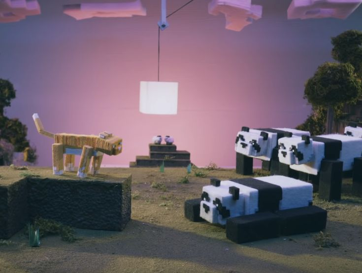 215 McCann Tells a Furry Fable of Cats and Pandas for Minecraft