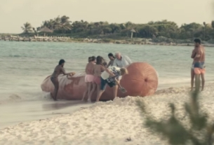 What's a Giant Beached Sausage Doing in This Tourism Campaign?