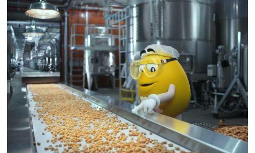 BBDO New York Picks the Perfect Peanut for M&M