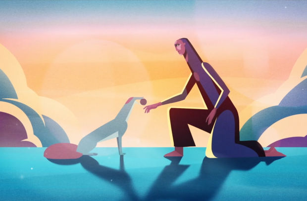 Dogs Bring Back the Will to Live in Moving Animated Short from Pedigree
