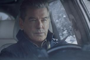 Pierce Brosnan Gets Left Action-starved in Kia's 'Getaway' Super Bowl Spot