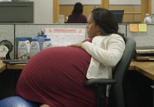 PSA for Paid Family Leave Features a 260-Week Pregnant Paralegal